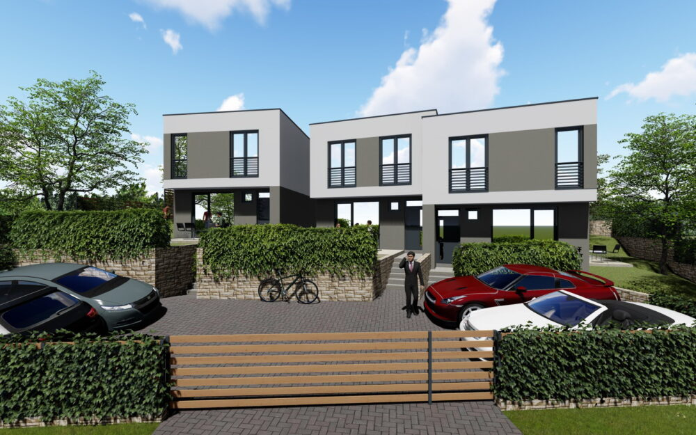 Pécs, Patacs újépítésű nappali + 3 hálószobás sorház